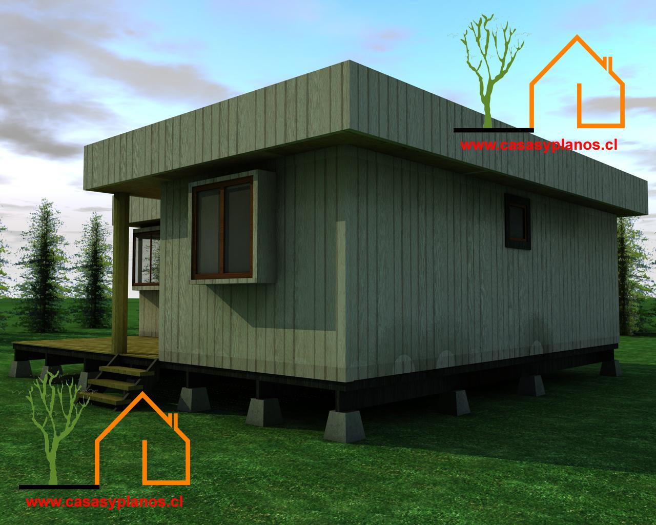 Casa cubo prefabricada 50 metros cuadrados planos y casas - Casas cubo prefabricadas ...